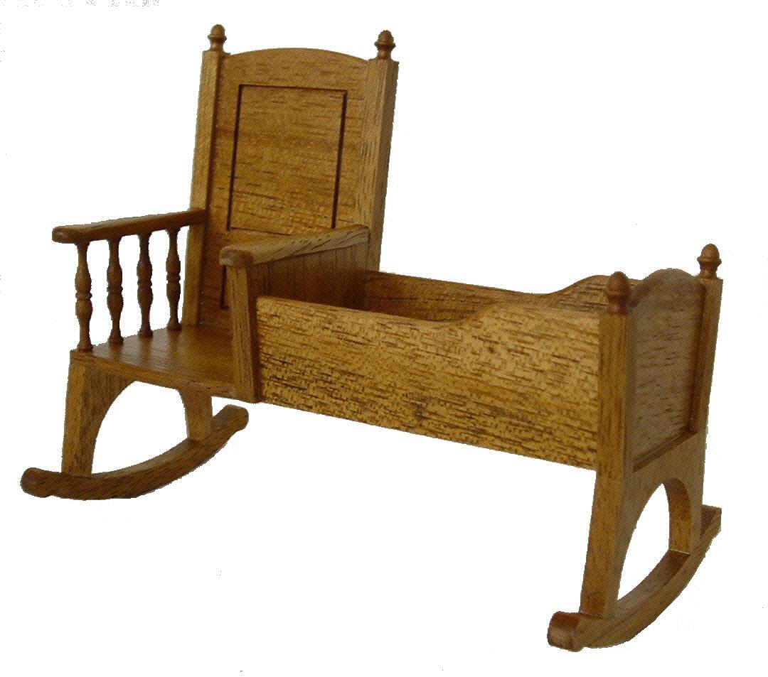 Rocking Chair With Cradle Rocking Chair With Cradle Mpfmpf Almirah Beds  Wardrobes And Furniture